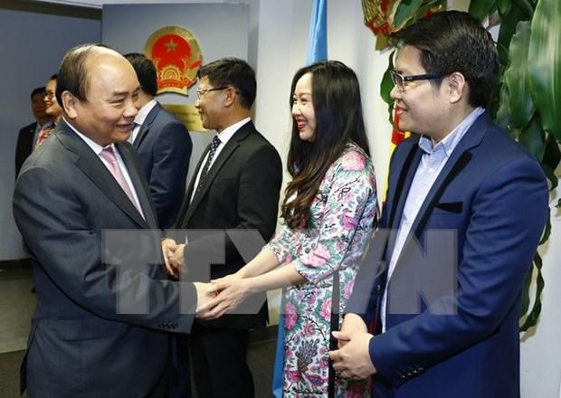 国际舆论对越南政府总理阮春福访美作出积极评价 hinh anh 1