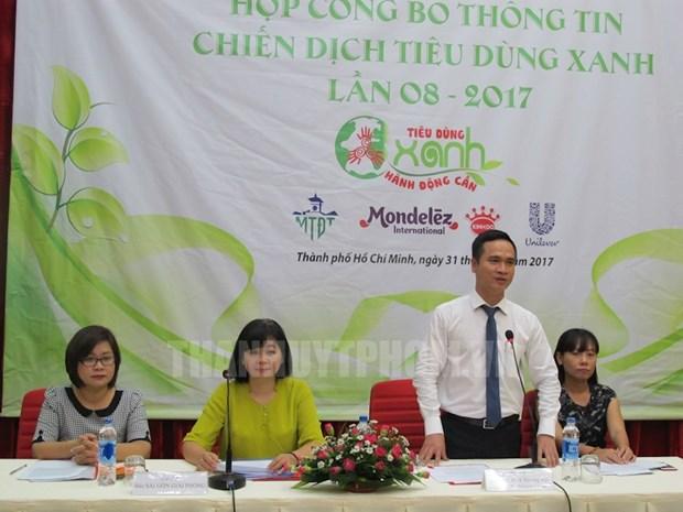 胡志明市启动第八次绿色产品消费运动 hinh anh 1