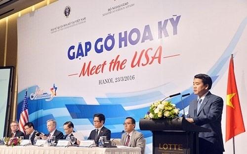 """""""2017年相约美国""""会议即将在胡志明市举行 hinh anh 1"""