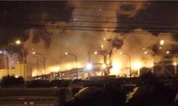 台塑河静钢铁工厂爆炸事故由除尘器布袋出现破损导致 hinh anh 1