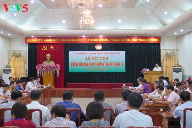 越南响应2017年世界环境日 hinh anh 1