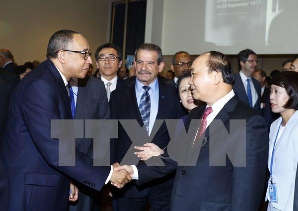 越南加入联合国40周年:国际友人高度评价越南的贡献 hinh anh 1