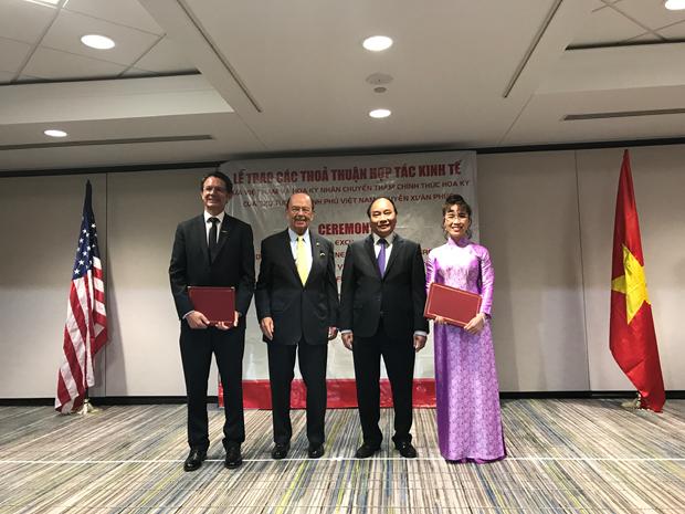 越捷航空公司与美国伙伴签署总额为47亿美元的贸易合同 hinh anh 2