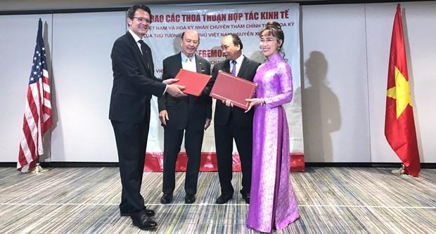 越捷航空公司与美国伙伴签署总额为47亿美元的贸易合同 hinh anh 3