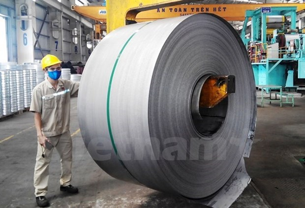 越南莲花集团对欧洲出口镀锌钢板1.2万吨 hinh anh 1