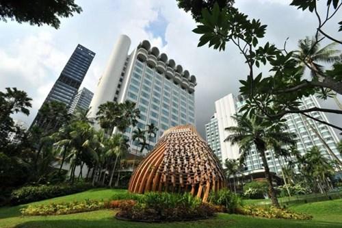 第16届香格里拉对话会开幕在即 新加坡加强安保工作 hinh anh 1