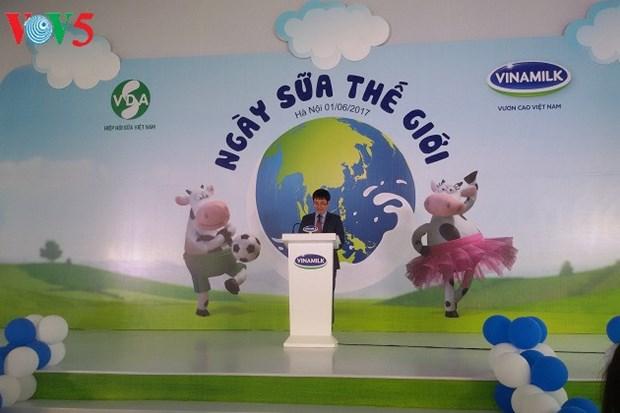 越南响应世界牛奶日 hinh anh 1