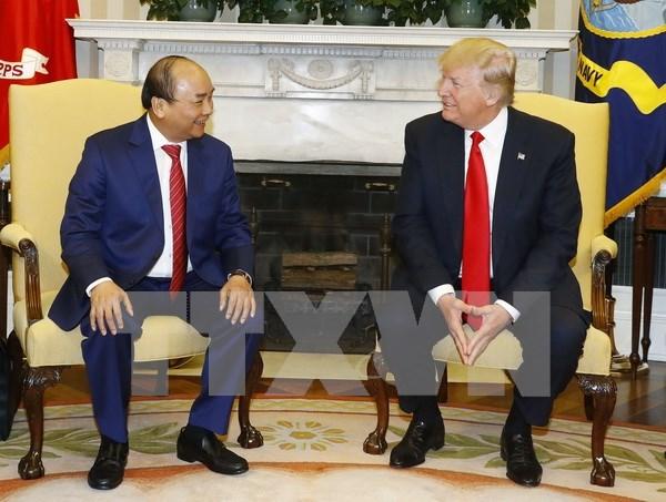 越南政府总理阮春福圆满结束对美国进行的正式访问 hinh anh 1