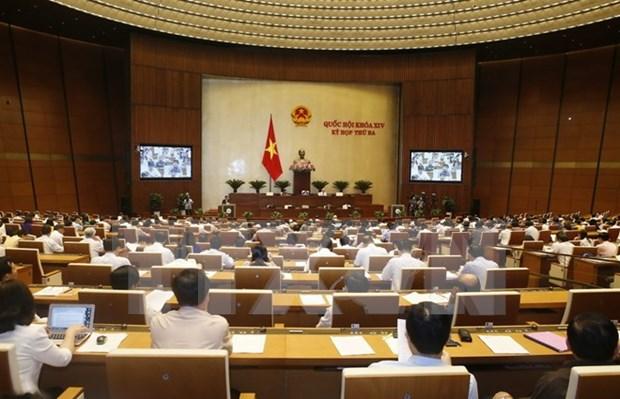 越南第十四届国会第三次会议发表第九号公报 hinh anh 1