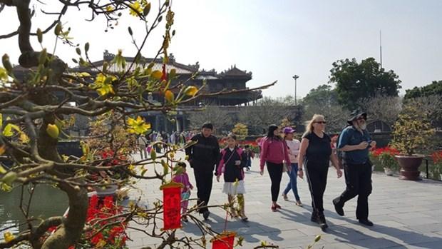 越南承天顺化省接待游客量约达150万人次 hinh anh 1