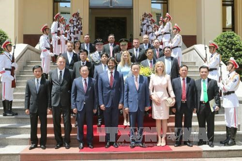 越南公安部与斯洛伐克内务部加强合作 hinh anh 3