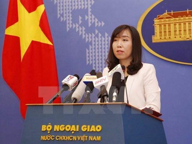 越南外交部发言人黎氏秋姮: 越南强烈谴责伦敦恐怖袭击事件 hinh anh 1