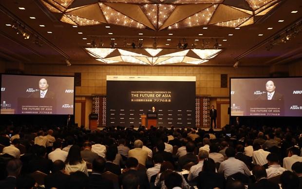 """越南政府总理阮春福出席第23届""""亚洲未来""""国际会议 hinh anh 2"""