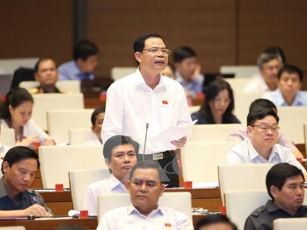 越南第十四届国会第三次会议:应确定食品安全国家管理模式 hinh anh 1