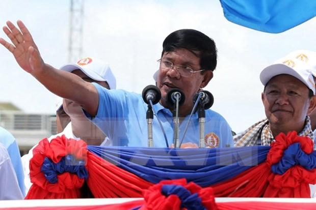 柬埔寨乡分区理事会选举:洪森首相宣布柬埔寨人民党获胜 hinh anh 1