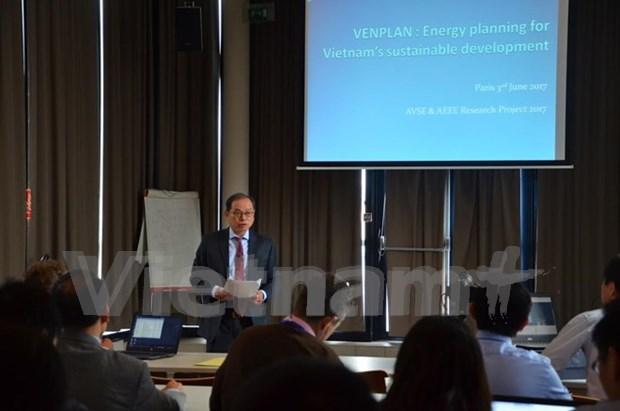 有关越南能源政策的研讨会在法国举行 hinh anh 1