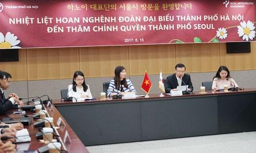 越南河内市人民议会工作代表团访问韩国和日本 hinh anh 1