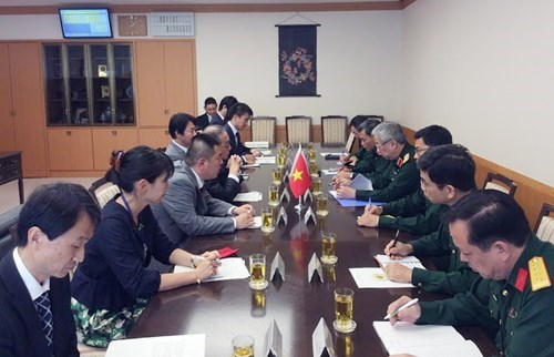 越南与日本加强防务合作 hinh anh 1