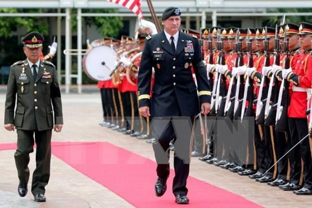 美泰两国司令讨论军事合作问题 hinh anh 1