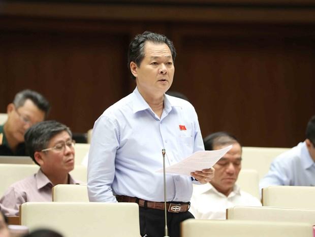 越南第十四届国会第三次会议发表第十二号公报 hinh anh 1