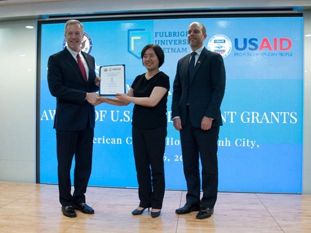 美国政府向越南富布赖特大学提供总额为1550万美元的援助 hinh anh 1