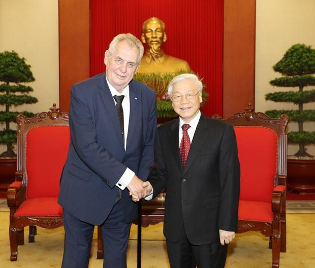 捷克重视巩固和发展对越南的传统友好合作关系 hinh anh 1