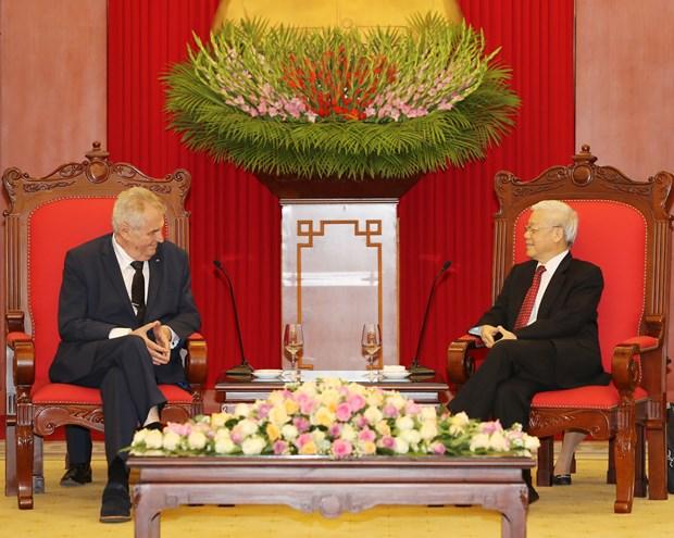 捷克重视巩固和发展对越南的传统友好合作关系 hinh anh 2