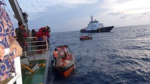 印度尼西亚向越南移交690名被扣渔民 hinh anh 1