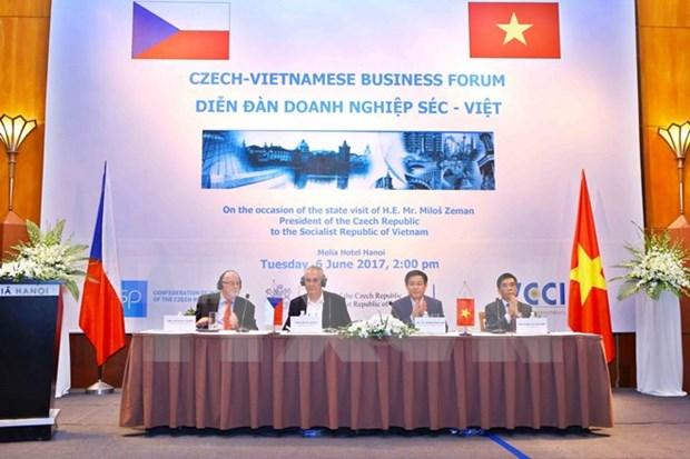 越南与捷克促进贸易合作 hinh anh 1
