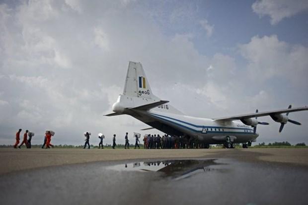 越南领导人就缅甸一架军用飞机失事向缅甸领导人致慰问电 hinh anh 1
