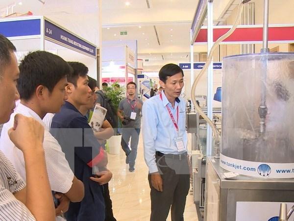 2017年越南工业和制造业展吸引15国企业参展 hinh anh 1