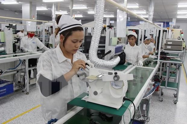 越南与韩国促进机器和电子领域的合作 hinh anh 1