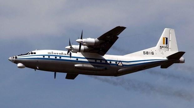 缅甸军机失事事故: 找到10具遇难者遗体 hinh anh 1