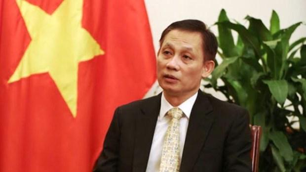 越南外交副部长黎淮忠:阮春福访日有助于推进两国关系走向深入 hinh anh 1