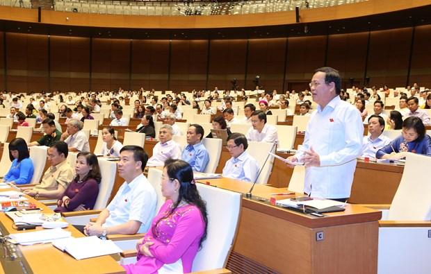 越南第十四届国会第三次会议发表第十四号公报 hinh anh 1