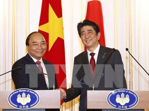 阮春福总理圆满结束对日本进行正式访问并出席亚洲未来国际会议之旅 hinh anh 1