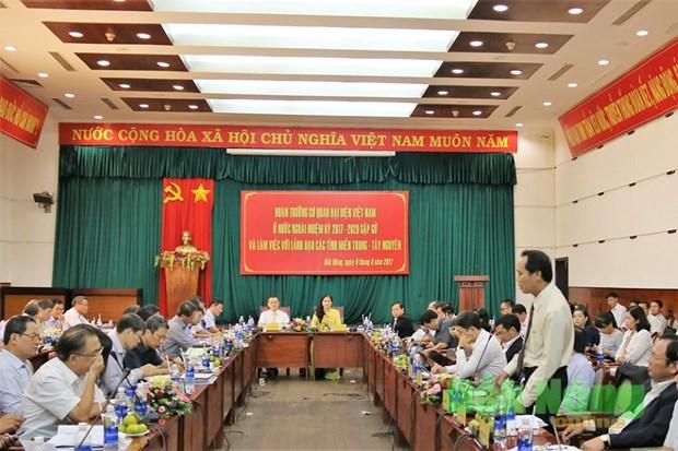 越南中部和西原地区有望成为外国投资者的投资乐土 hinh anh 1