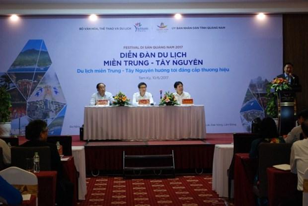 越南中部和西原地区旅游业致力打造高端品牌 hinh anh 1