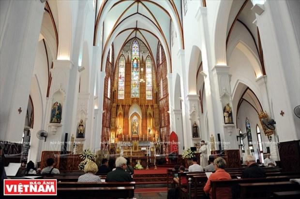 河内大教堂—穿越三个世纪的落脚点 hinh anh 12