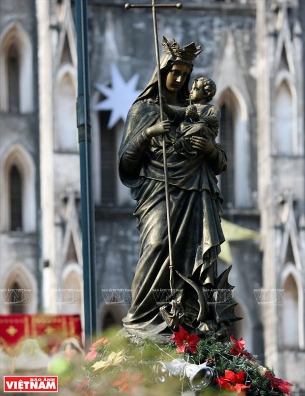 河内大教堂—穿越三个世纪的落脚点 hinh anh 3