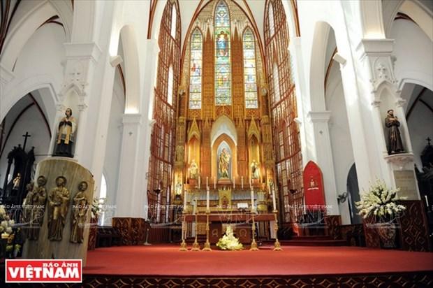 河内大教堂—穿越三个世纪的落脚点 hinh anh 9