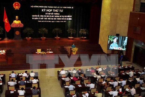 胡志明市人民议会第四次会议聚焦城市环境问题 hinh anh 1