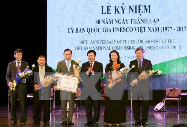 越南UNESCO为把越南风土人情推广到世界各地作出贡献 hinh anh 1
