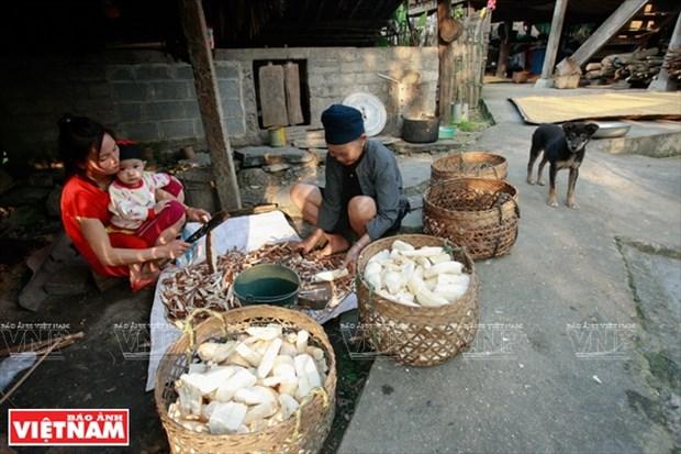 河江市的草屋村——国内外游客的有趣旅游点 hinh anh 18