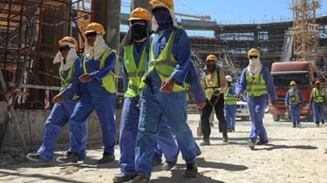 越南将在必要时把在卡塔尔务工的越南人员送回国 hinh anh 1