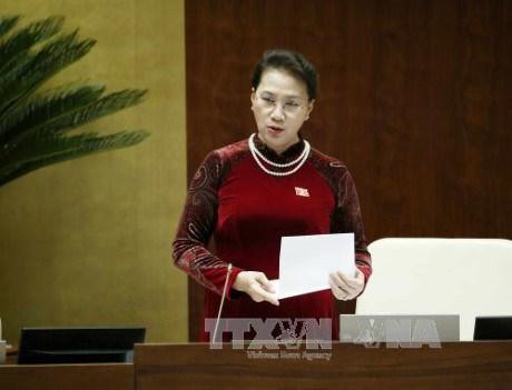 越南第十四届国会第三次会议发表第十七号公报 hinh anh 1