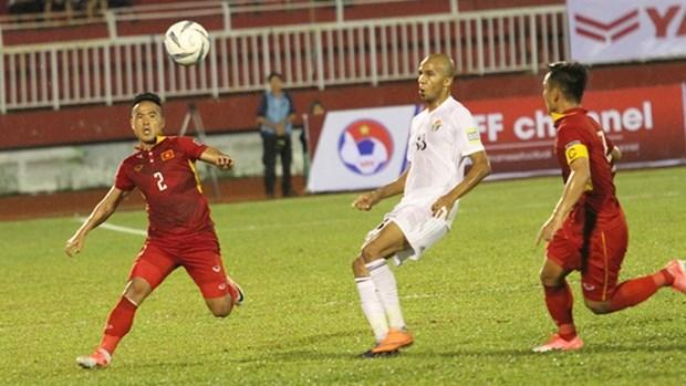 2019年亚洲足球锦标赛预选赛:越南队和约旦队0-0握手言和 hinh anh 1