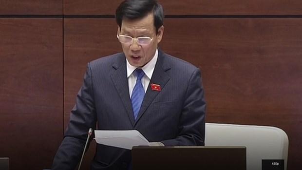 越南第十三届国会第三次会议:文体旅游部长回答国会代表的质询 hinh anh 1