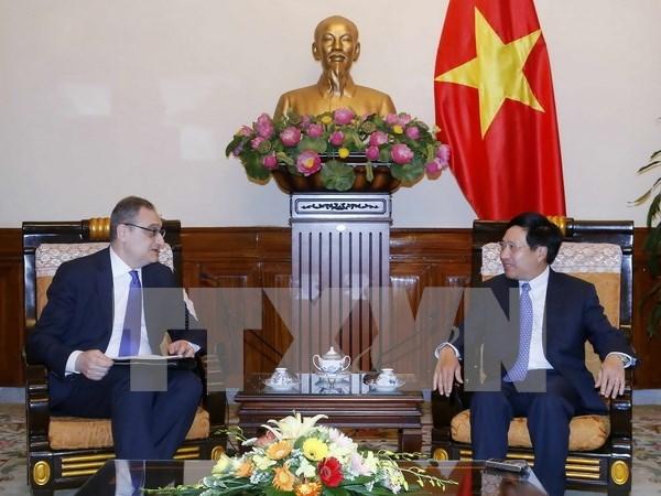 越俄第9次战略对话和外交副部长级政治磋商在河内举行 hinh anh 1