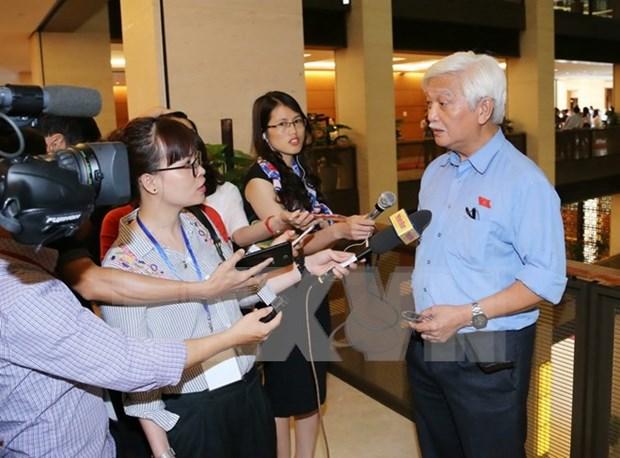 越南第十四届国会第三次会议:对同心乡发生的事件进行起诉是诉讼过程中必不可少的环节 hinh anh 1